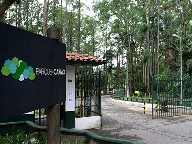 Entrada Parque do Carmo